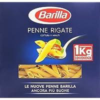 Barilla Penne Rigate, Pasta di Semola di Grano Duro - 1 kg