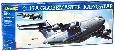 Revell 04674 C-17A Globemaster 1:144 RAF/Qatar Plastic Kit