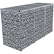 ToPaBox Mülltonnenbox, gabione 0318, 63 x 180 x 109 cm, 4251260905208