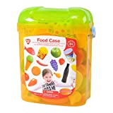 PlayGo 3122 - My Food Case, Scatola di Alimenti Finti per supermercato o Cucina Giocattolo