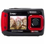 Knox Doppio Display LCD 20MP fotocamera impermeabile e antiurto Digital
