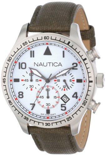 Nautica Unisex N16580G BFD 105 Chrono Watch