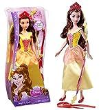 Mattel Haarspiel Puppe Belle | Disney Princess | Snap 'N Style