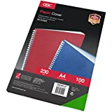 GBC Ibicover Binding Cover 63 Series 230GSM A4 Green (Pack of 100)