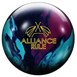 Roto Grip Alliance Rule International OVERSEA pour professionnels et débutants avec beaucoup de bowling réactive Arc, Lila Blau Aqua
