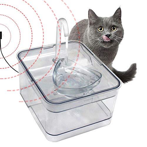 Pet Dispensador automático agua 2.6L Cat Fuente Automático