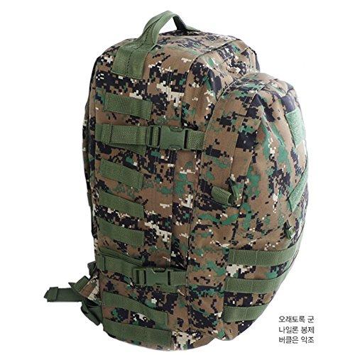 Military Tactical Rucksack 45L für Outdoor Wandern Klettern Camping Jagd Shooting TreKing Tasche Rucksäcke Assault Pack Combat camouflage