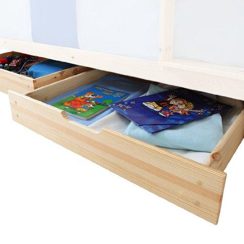 2 Schubladen-set Etagenbett (TICAA Schubkasten 2er-Set