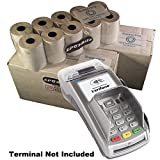 eposbits® Marke Full Größe große Rolls to Fit Verifone vx520C VX 520C Kreditkarte Terminal?40Rollen