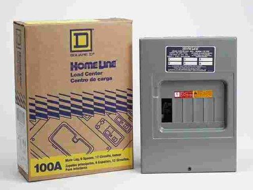 Homeline Lug Laden Zentrum 100Amp 6Platz Box