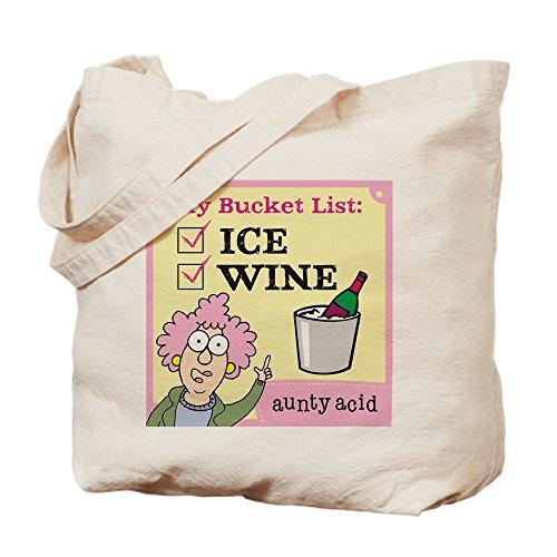CafePress-'Aunty Acid: Eimer Liste-Leinwand Natur Tasche, Reinigungstuch Einkaufstasche