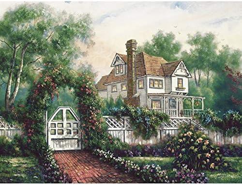 WACYDSD Puzzle Adulte 1000 1000 1000 Pièces Jardin De La Cabine DIY Art De Mur Moderne Cadeau Unique Home Decor | Une Forte Résistance à Chaleur Et Résistant  5bad04