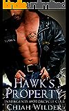 Hawk's Property: Insurgents Motorcycle Club (Insurgents MC Romance Book 1)