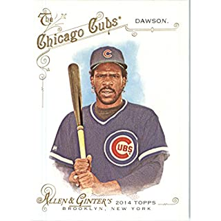 2014 Topps Allen & Ginter Baseball Card # 292 Andre Dawson, Chicago Cubs