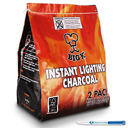 2-pack-x2-1kg-bags-of-instant-light-the-bag-bbq-charcoal-for-stoves-bbqs-burner-comes-with-the-chemi