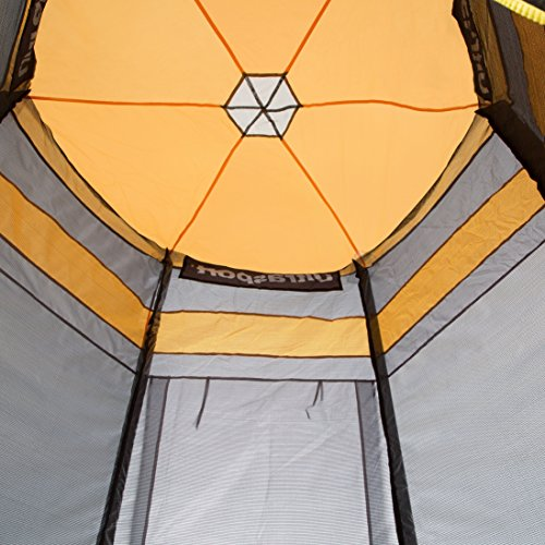 Ultrasport Trampolin-Spielzelt für Gartentrampolin Ultrasport Jumper Blau & Pink (Modelle ab Mai 2014), 360 cm - 3