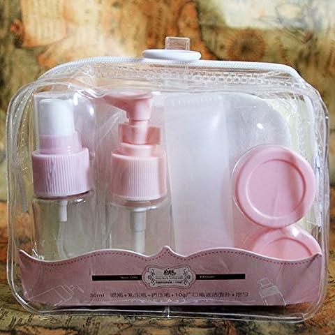 Di bottiglia XJoel di viaggio per i cosmetici trucco contenenti contenitori a prova di articoli da toeletta di perdite di liquido Accessori cellulare 7 viaggio