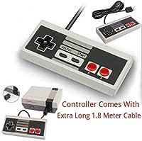 Game Pad Joystick Per Nintendo Mini Classic NES JOYPAD Con CAVO EXTRA LUNGO LUNGO 1,8 M - Controller viene fornito con 1.8M Extra lungo cavo, in modo che si pu? giocare in tutta comodit?. - Plug-and-play basta connetterlo - COMPATIBILIT?: Questo cont...