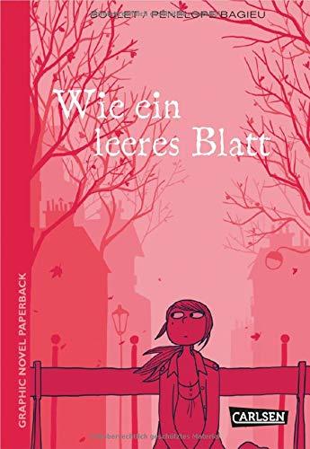 Graphic Novel Paperback: Wie ein leeres Blatt