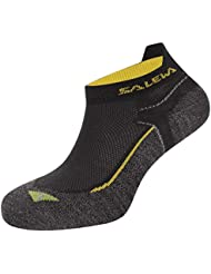 Salewa Approach No Show Sk - Calcetines para hombre, color negro, talla 47-49