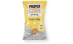 PROPERCORN Sweet & Salty Popcorn 30g (Pack of 24)