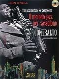 Il metodo jazz per sassofono contralto + CD