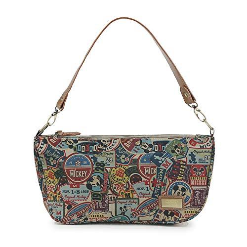 ililily Disney Mickey Mouse Pattern Multi Cross Body Rounded Shoulder Bag 86d1cc10eb63d