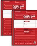 Fontaine 1042574Formation preuve/Rapport Cahier, format A4, ligné, 28feuilles Rouge A4 (rot)