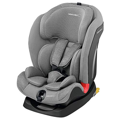 Bébé Confort TITÁN 'Nomad Grey', Silla de auto, grupo 1/2/3, 9-36 Kg, convertible, reclinable, ISOFIX, 9 meses-12 años, color gris