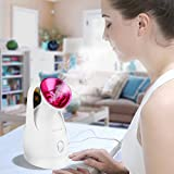KINGDOMCARES Nano Ionic Hot Mist Facial Steamer Clear Blackheads Acne Fat Granule Salon