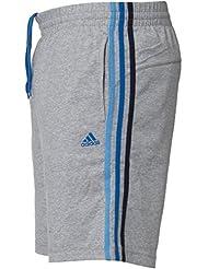 Adidas Originals Men's AESS 3S HSJ coton Climalite Fitness Casual Short de sport rétro