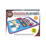Global Gizmos 50770Twin 2en 1musical pour enfant Tapis de jeu clavier et kit de batterie