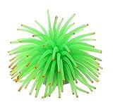 Hytech Plus Green Ocean Silicone Aquarium Coral Medium Size Aquarium Toy