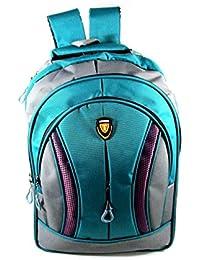 41042900ac4f ehuntz Tycoon Series Waterproof Polyester Green School Bag (9 to 17 Years)