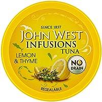 John West Infusiones De Atún Con Limón Y Tomillo 80g (Paquete de 6)