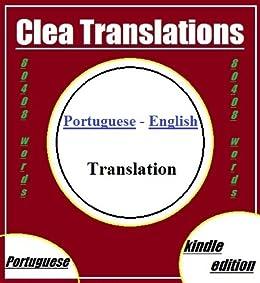 Portuguese To English Translation (Portuguese Edition) eBook