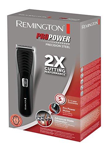 Remington HC7110 ProPower Precision Steel Haarschneider mit hochwertigen Edelstahlklingen, schwarz - Bild 6