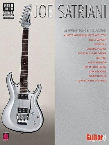 Partition : Satriani Joe Anthology Guit. Tab
