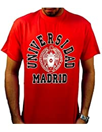 a1ee0d1bc ZiNGS Camiseta Universidad Complutense de Madrid - Rojo