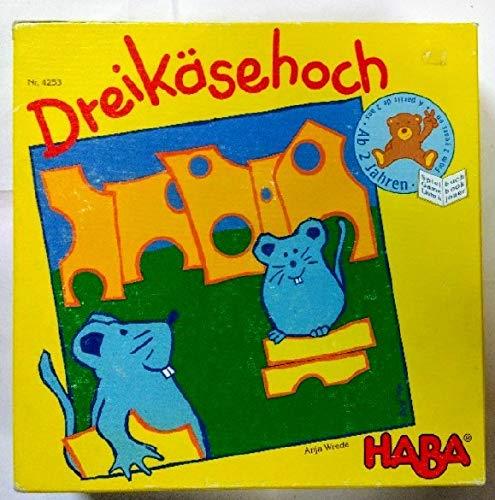 Haba 4253 Spiel DREIKÄSEHOCH -