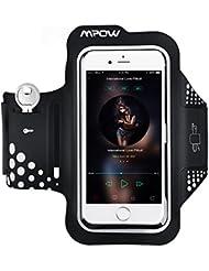 Handy Sportarmband, Mpow Sportarmband iPhone 6,Sportarmband Samsung Galaxy S7 S6 Edge  mit Schlüsselhalter und reflekltierendes Band für iPhone 7/6/6S/5,Galaxy S6/S5,usw bis zu 5.1zoll.