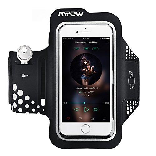 Handy Sportarmband,Mpow Schweißfest Sportarmband iPhone 6, Sportarmband Samsung Galaxy S7 S6 Edge mit Schlüsselhalter und reflekltierendes Band für iPhone 8/7/6/6S/5,Galaxy S6/S5,usw bis zu 5.1zoll