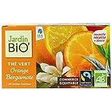 Jardin bio équitable thé vert orange bergamote 30g (Prix Par Unité) Envoi Rapide Et Soignée