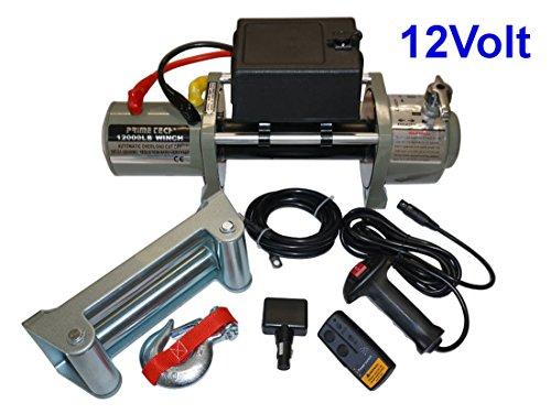 Elektrische Marken-Seilwinde 12Volt 12000 lb / 5440 kg / Modell WF12 mit Seilgeschw. in Highspeed / 12V ohne Seil