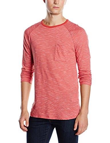 WESC Herren Longsleeve Olbin Raglan Shirt, Baked Apple, XL, F20855442K Preisvergleich