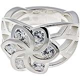Herr der Ringe - Elben Ring Silber 925 Flowers