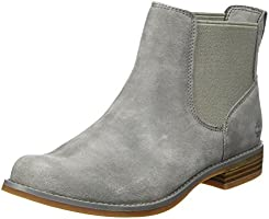 Timberland Damen Magby Pull-On Chelsea Boots, Grau (Steeple Grey), 40 EU