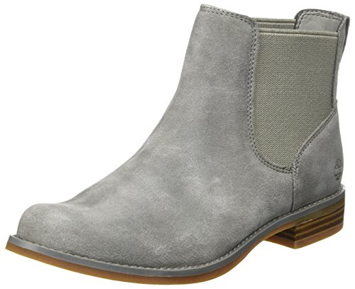 Timberland Damen Magby Pull-On Chelsea Boots, Grau (Steeple Grey), 37 EU
