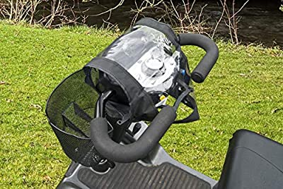 Mobility Scooter Waterproof Panel Cover Control Black Tiller Top Protect Fitted