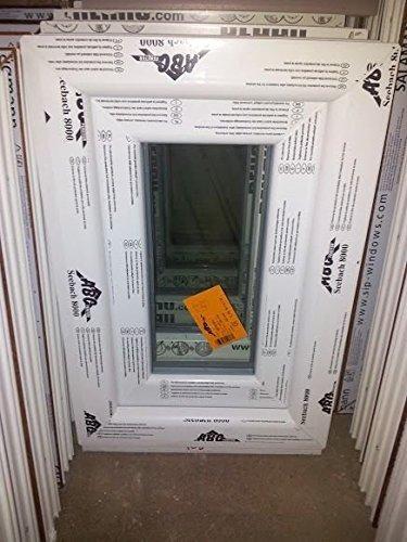 Kunststofffenster Seebach8000 40x60 cm (b x h), weiß, DIN links